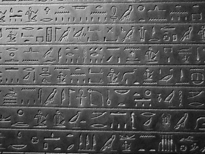 İtalya Torino Mısır müzesi antik Mısır hiyeroglifi - Turin Egyptian Museum ancient Egyptian hieroglyphics