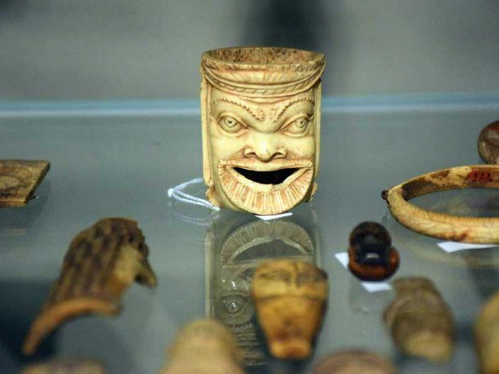 İtalya Torino Mısır müzesi arkeolojik buluntular - Turin Egyptian Museum archaeological findings