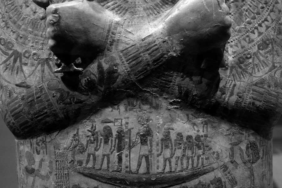 Torino Mısır Müzesi Mentuirdis tabutları - Turin Egyptian Museum Mentuirdis coffins