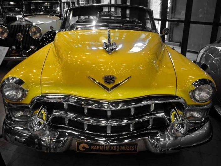 İstanbul Rahmi M. Koç Müzesi 1953 model Cadillac - Rahmi M. Koc Museum Cadillac 1953 model