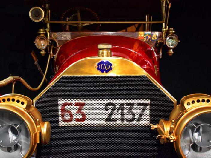 İtalya Torino Otomobil Müzesi 1912 Model İtala 25-35 HP - Italy Turin Automobile Museum (Museo Nazionale dell'Automobile)