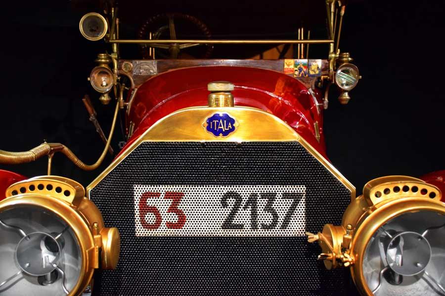 Torino Ulusal Otomobil Müzesi; Yarış Arabaları ve Otomobiller