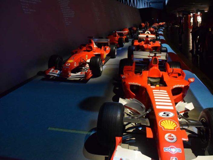 İtalya Torino Otomobil Müzesi F1 salonu - Italy Turin Automobile Museum F1 hall (Museo Nazionale dell'Automobile)