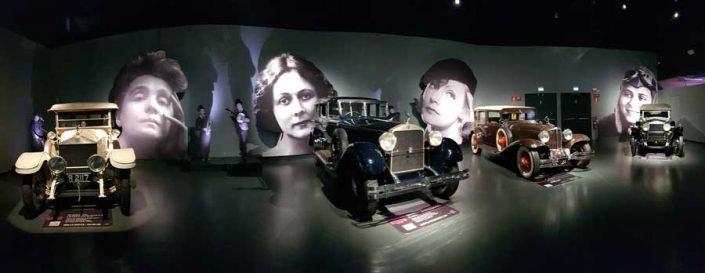 İtalya Torino Otomobil Müzesi - Turin Automobile Museum (Museo Nazionale dell'Automobile)