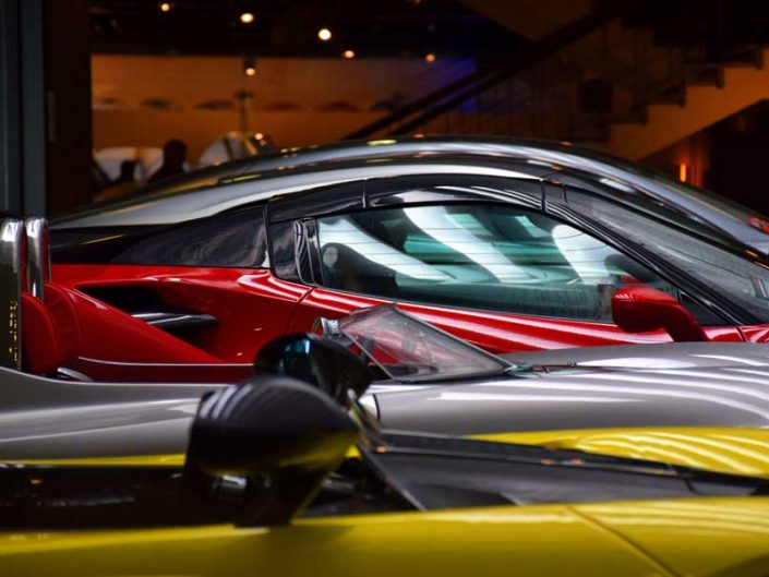 İtalya Torino Otomobil Müzesi süper lüks arabalar - Italy Turin Automobile Museum luxury cars (Museo Nazionale dell'Automobile)