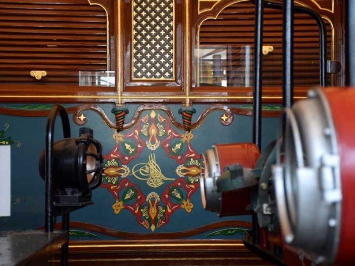 Rahmi Koç Müzesi fotoğrafları Sultan Abdülaziz'in Saltanat Vagonu - Rahmi Koc Museum Sultan Abdülaziz's Sultanate Wagon