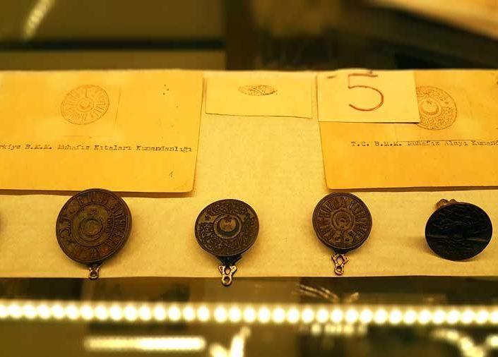 Rahmi M. Koç Müzesi Atatürk'ün kullandığı mühürler - Rahmi M. Koc Museum Atatürk's signet rings