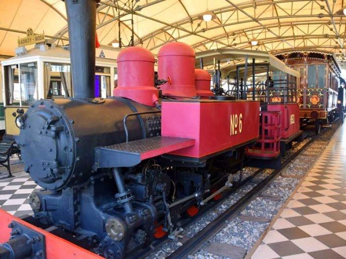 Rahmi M. Koç Müzesi buharlı tren fotoğrafları - Rahmi M. Koc Museum steam train photos