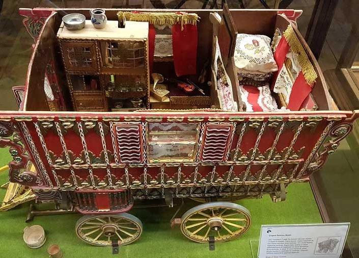 Rahmi M. Koç Müzesi fotoğrafları Çingene karavanı modeli - Model of Gipsy caravan