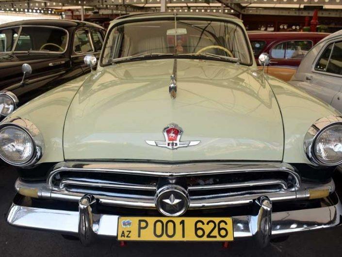 Rahmi M. Koç Müzesi fotoğrafları 1964 model GAZ marka Sovyetler Birliği arabası - Rahmi M. Koc Museum 1964 model GAZ brand Soviet Union car