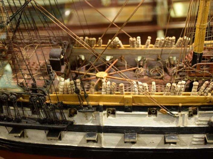 Rahmi M. Koç Müzesi görselleri kadırga gemisi modeli - Rahmi M. Koc Museum galley model