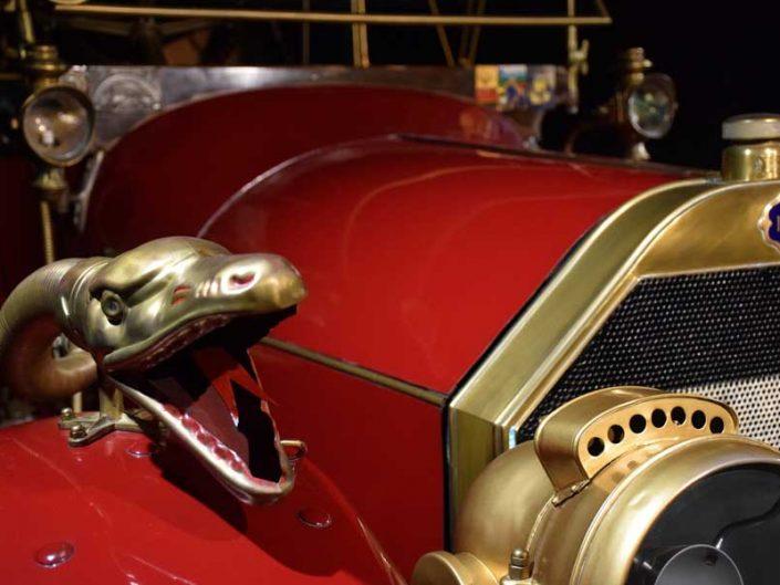 Torino Otomobil Müzesi 1912 Model İtala 25-35 HP detayı - Turin Automobile Museum (Museo Nazionale dell'Automobile)