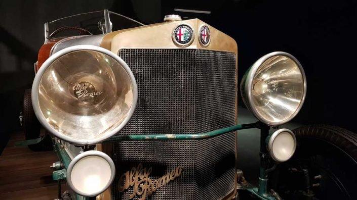 Torino Otomobil Müzesi 1926 model Alfa Romeo RL55 - Turin Automobile Museum (Museo Nazionale dell'Automobile)