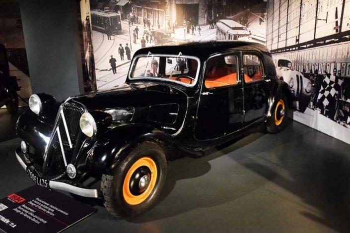 Torino Otomobil Müzesi 1934 model Citroen 11A - Turin Automobile Museum photos (Museo Nazionale dell'Automobile)