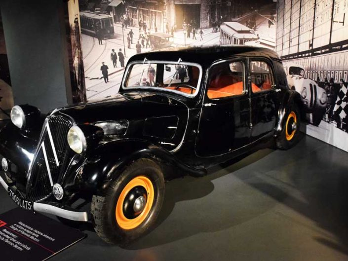 Torino Otomobil Müzesi 1934 model Citroen 11A - Turin Automobile Museum photos (Museo Nazionale dell'Automobile)