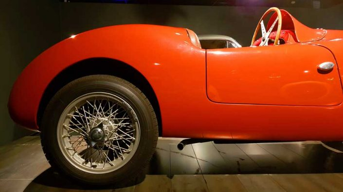 Torino Otomobil Müzesi 1936-1947 Fiat 500A modeli - Turin Automobile Museum (Museo Nazionale dell'Automobile)