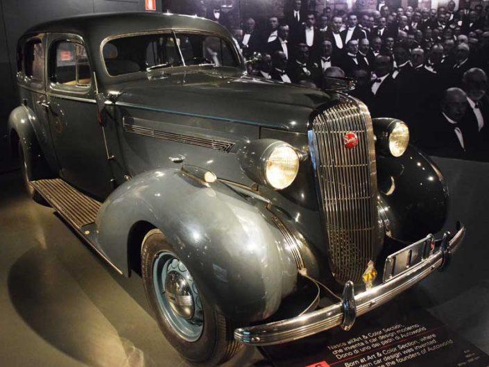 Torino Otomobil Müzesi 1936 model Buick 41 C Special - Turin Automobile Museum photos (Museo Nazionale dell'Automobile)
