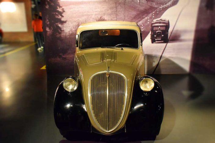 Torino Otomobil Müzesi 1936 model Fiat 500 - Turin Automobile Museum photos (Museo Nazionale dell'Automobile)