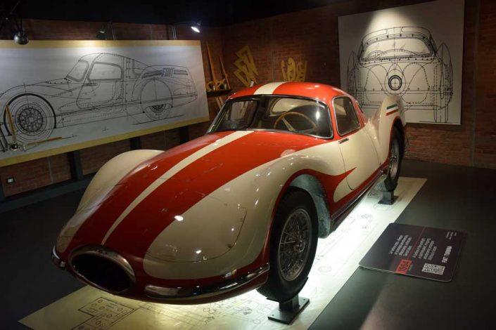 Torino Otomobil Müzesi 1954 model Fiat Turbina - Turin Automobile Museum photos (Museo Nazionale dell'Automobile)