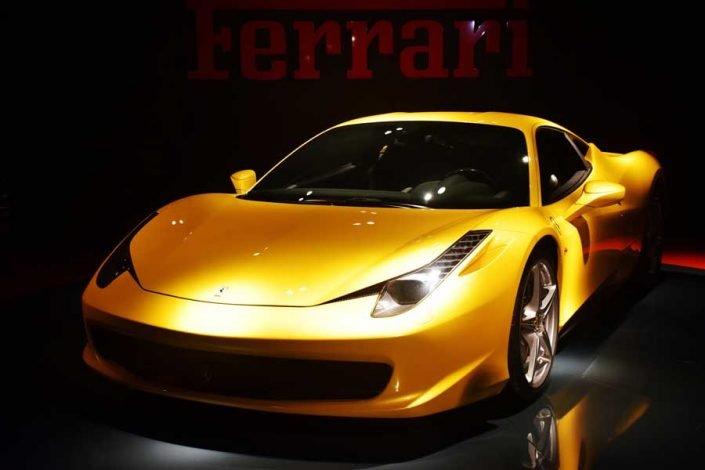 Torino Otomobil Müzesi 2009 model Ferrari 458 İtalia - Turin Automobile Museum 2009 Ferrari 458 Italia (Museo Nazionale dell'Automobile)