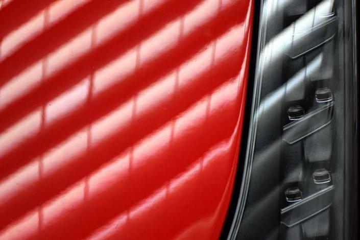 Torino Otomobil Müzesi Ferrari ön lambalar - Turin Automobile Museum Ferrari front lamps (Museo Nazionale dell'Automobile)