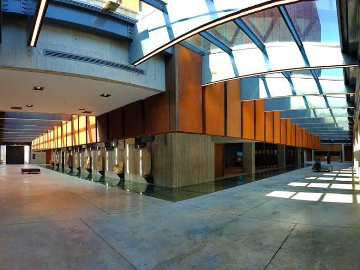 Çanakkale gezilecek yerler Troya müzesi panaromik fotoğrafı - Troy museum panaromic photo
