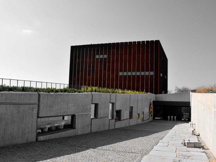 Çanakkale müzeleri Troya müzesi binası - Troy museum building