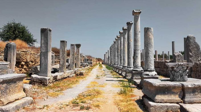 Perge Antik Kenti - Perge Ancient City