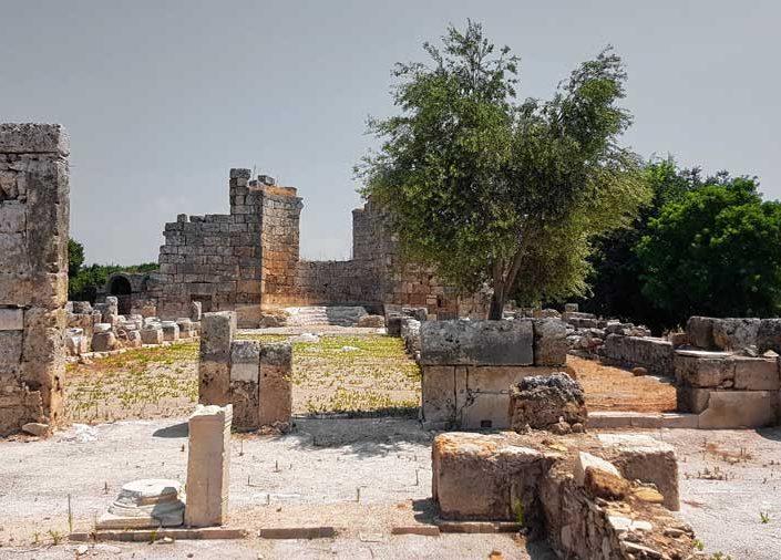 Antalya Perge antik kenti fotoğrafları güney bazilika - Perge ancient city the southern basilica