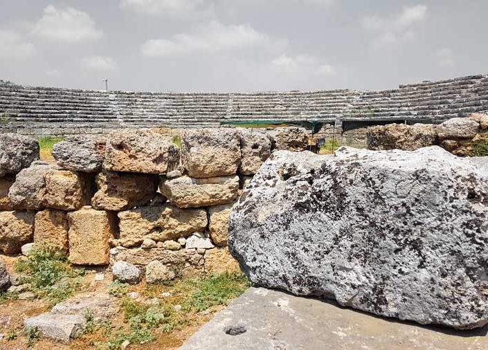 Antalya Perge antik kenti stadyumu - Perge ancient city stadium