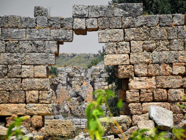 Antalya gezilecek yerler Perge antik kenti yapıları ve kalıntıları - Perge ancient city structures and ruins