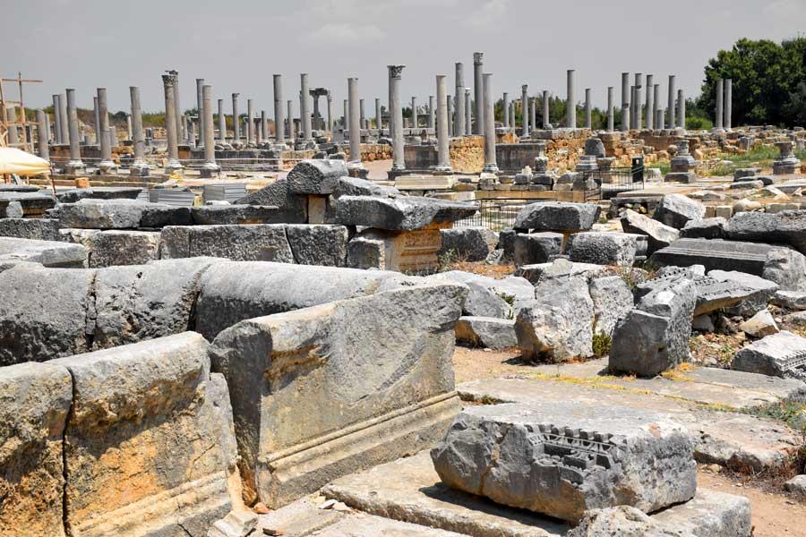 Antalya gezilecek yerler antik kentler Perge antik kenti fotoğrafları - Perge ancient city photos