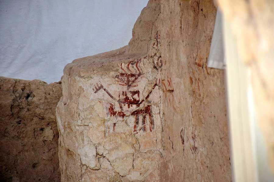 Arslantepe höyüğü duvar resimleri - Malatya Arslantepe mound wall paintings