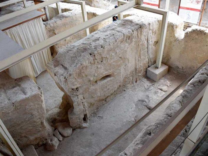 Arslantepe höyüğü saray depoları - Eastern Anatolia region Arslantepe mound stores