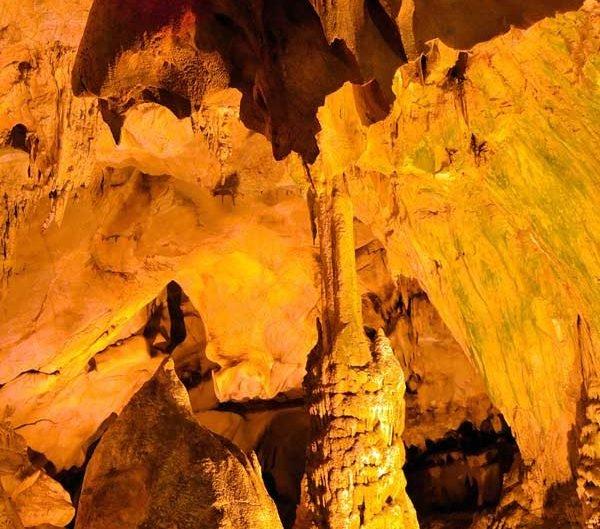 Dupnisa mağarası dikitler ve iç oluşumları - Dupnisa cave's stalagmites photos