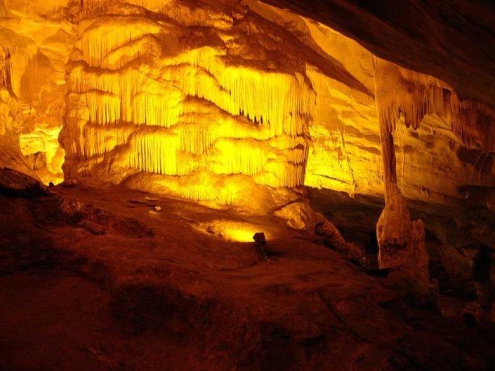 Dupnisa mağarası fotoğrafları karstik oluşumları - Dupnisa cave mağara carstik formations