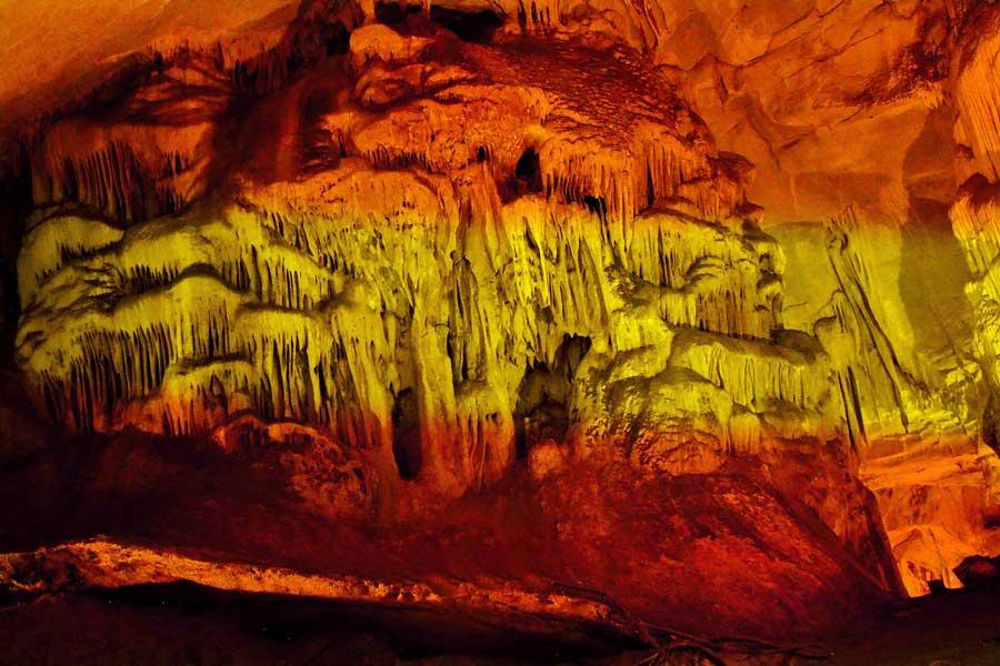 Kırklareli gezilecek yerler Dupnisa mağarası fotoğrafları - Dupnisa cave photos