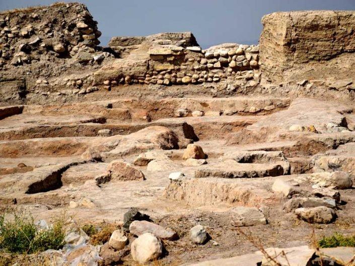 Malatya Arslantepe höyüğü kral mezarları - Eastern Anatolia region Arslantepe mound royal tombs