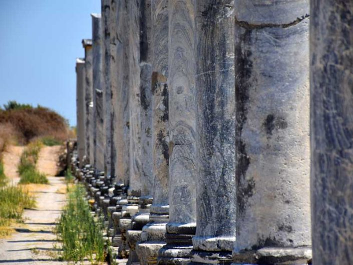 Perge fotoğrafları - Perge ancient city photos