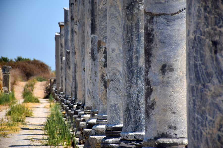 Perge Antik Kenti Eserleri ve Tapınakları – Perge Ancient City