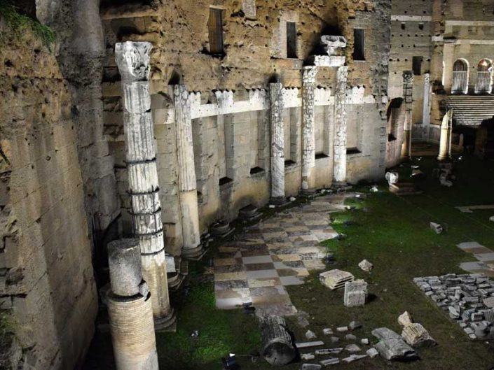 Roma İmparatorluk Forumları Colossus Salonu - Roman Imperial Forums Hall of Colossus