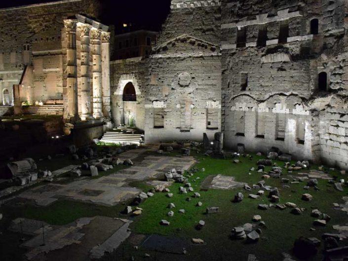 Roma İmparatorluk Forumları Nerva Forumu - Imperial Forums, Nerva Forum