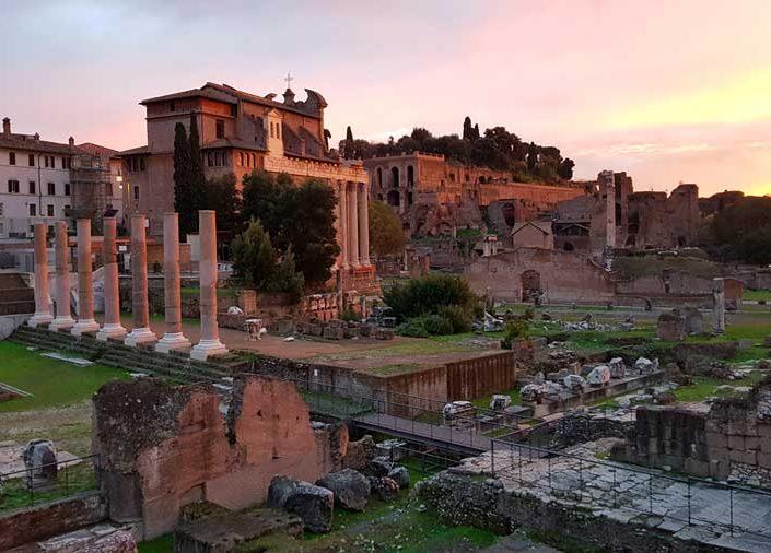 Roma İmparatorluk Forumları Sezar Forumu - Roman Imperial Forums, Forum of Caesar