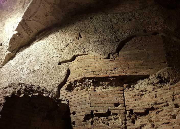 Roma İmparatorluk Forumları Trajan Pazarı içi - Imperial Forums interior of the Trajan's Market