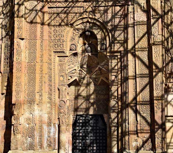 Divriği Ulu Cami Batı kapısı veya Tekstil kapısı - Divriği Great Mosque West Gate or Textile Gate