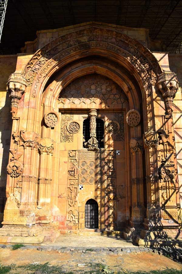 Divriği Ulu Cami ve Darüşşifası, Darüşşifa kapısı genel görünümü ve bezemeleri - Divrigi Great Mosque and Hospital general view and Hospital, decoration of Hospital Gate