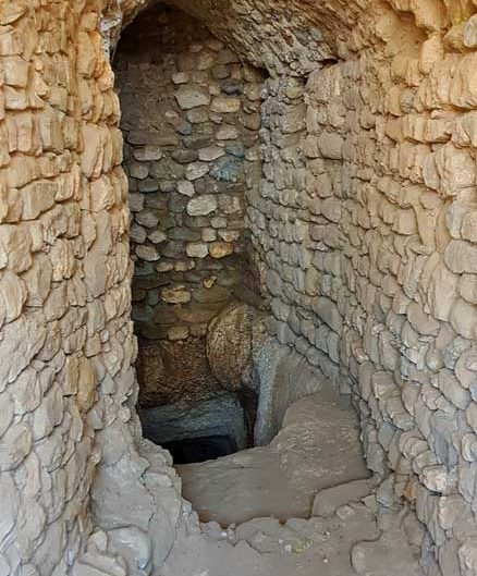 Harput kalesi Artuklu sarnıcı ve zindanı - Artuqid cistern and dungeon in Harput fortress