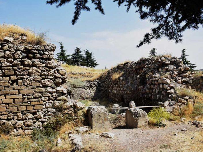 Harput kalesi tarihi hamamı - Historical baths of Harput fortress