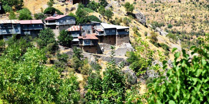 Apçağa köyü klasik köy evleri - Apçağa village classical village houses