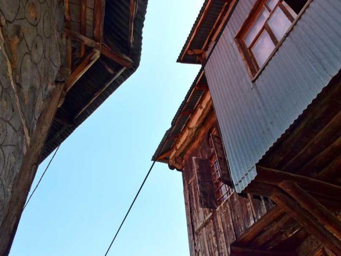 Apçağa köyü klasik köy evleri detayları - Erzincan Apçağa village house details